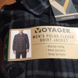 Men's VOYAGER Polar Fleece Shirt Jacket
